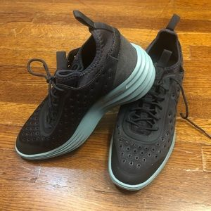 Grey NIKE, blue soles Size 9 Excellent Condition